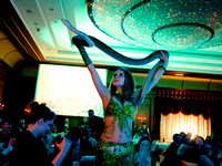 belly dancer with snake